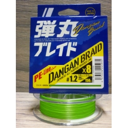 MAJORCRAFT DANGAN BRAID X8 LIME