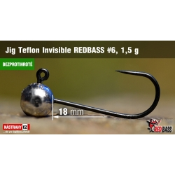 REDBASS TEFLON INVISIBLE BARBLESS